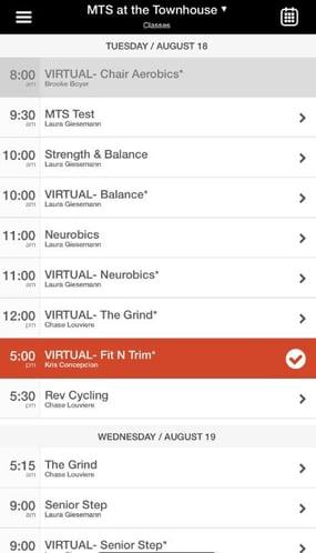 MTS APP - Virtual Classes