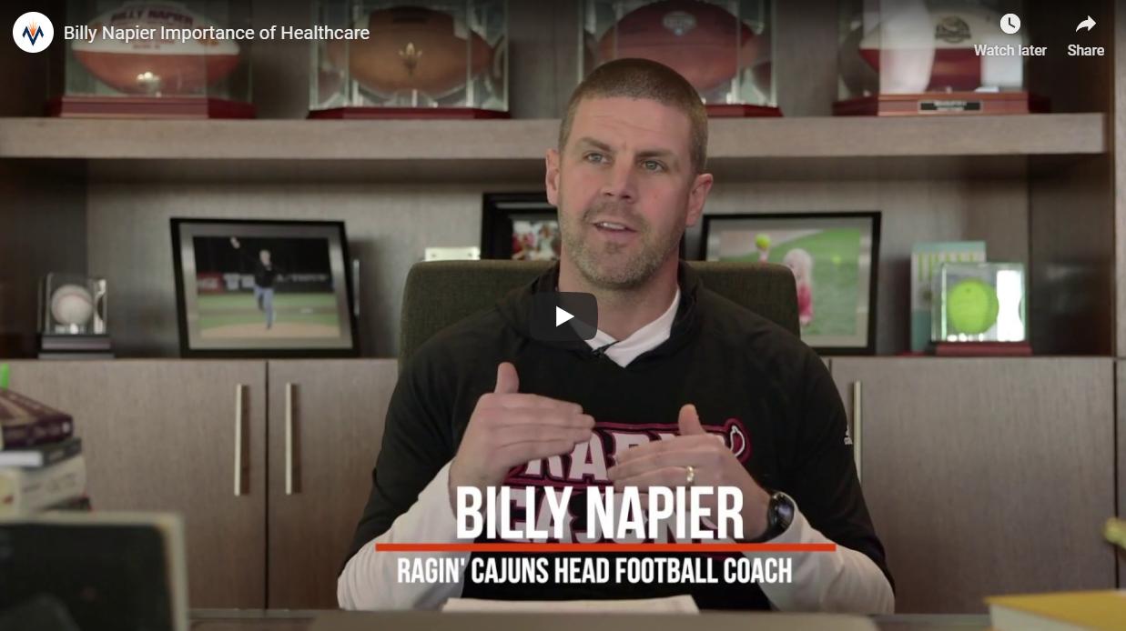 MTS and UL Football Coach Billy Napier Share Same Values
