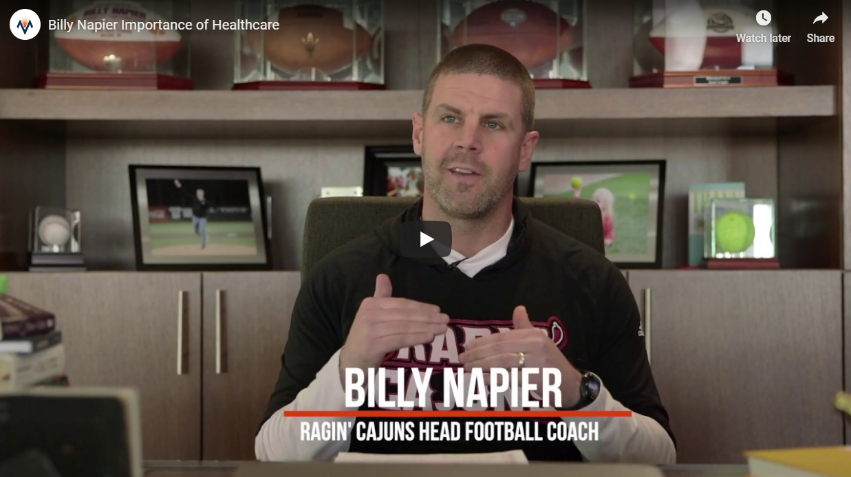 MTS and UL Football Coach Billy Napier Share Same Values
